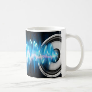 music power design coffee mug