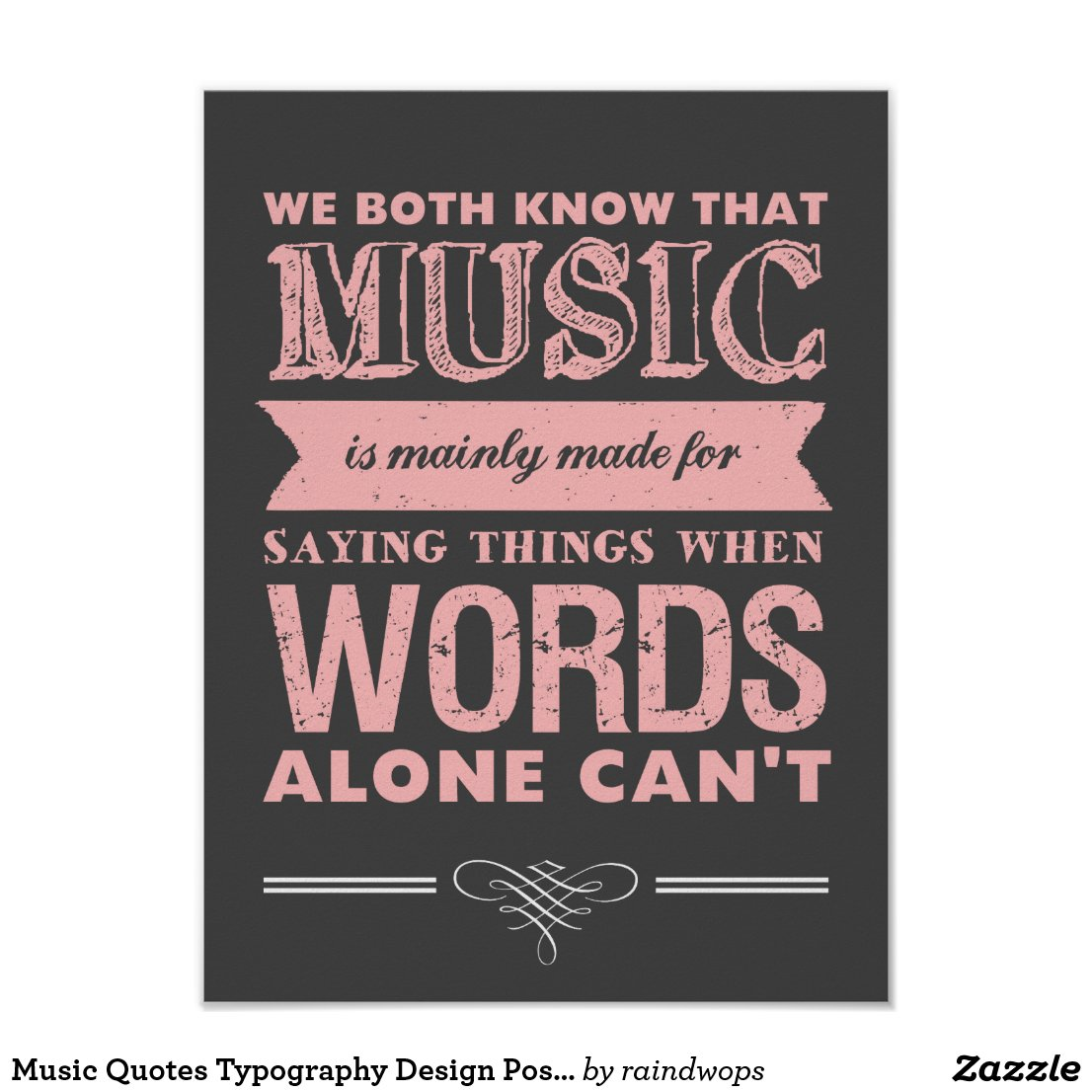 Music Quote Posters