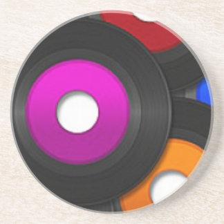 Music Record 45's Coaster