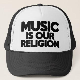 Music Religion Trucker Hat