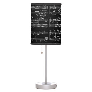 music room decor table lamp