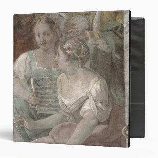 Music Room (fresco) (detail of 60259) Vinyl Binders