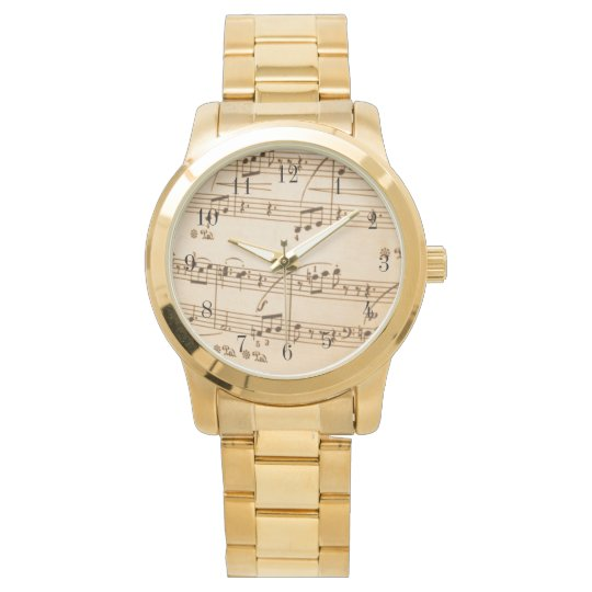 Music Score Watch