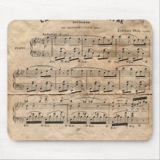 Music Sheet Mouse Pad
