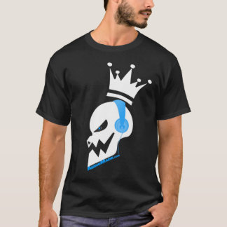 music skull headphones T-Shirt