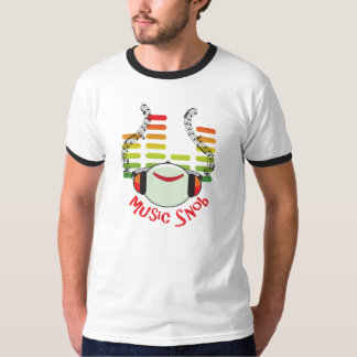 Music Snob Multicolor T-Shirt
