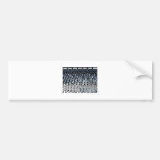 Music soundboard sound board mixer bumper sticker