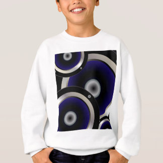 Music Speaker Background Sweatshirt
