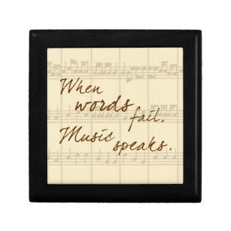Music Speaks Gift Box