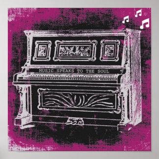 """""""Music Speaks"""" Poster"""