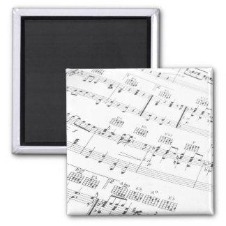 Music Square Magnet