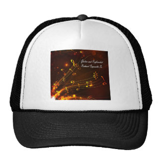 Music Staff and Notes Trucker Hat