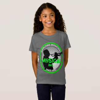 Music Store Retro Logo Trumpet Player Graphic T-Shirt