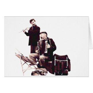 Music - Street Musicians Card