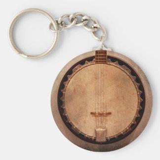 Music - String - Banjo Keychain