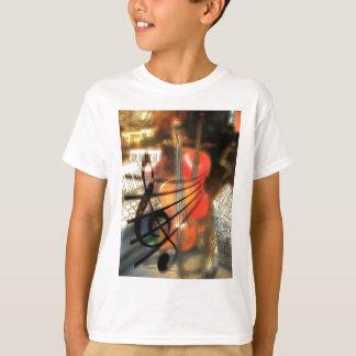 Music  Stringed Instrument Violin Destiny Digital T-Shirt