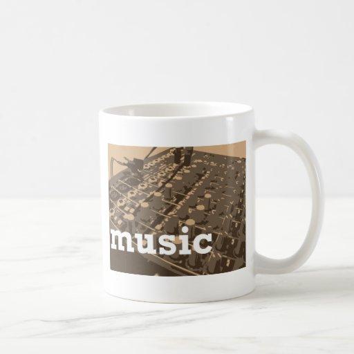 Music Studio Mixer Mugs