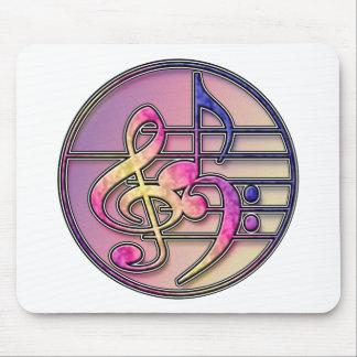 Music Symbols 1 Mouse Pad