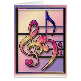 Music Symbols 2 Card