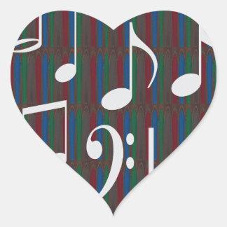 Music Symbols Band Musician Mastreo Singers Songs Heart Sticker