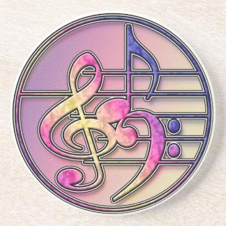 Music symbols Coaster
