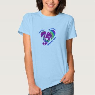 Music T blue T-shirts