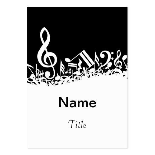 Music teacher business card template zazzle for Music business card template