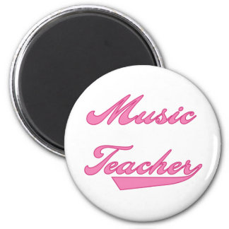 Music Teacher Pink Magnet