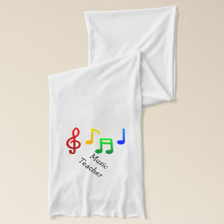Music Teacher Scarf