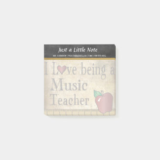Music Teacher | Vintage Style Post-it Notes