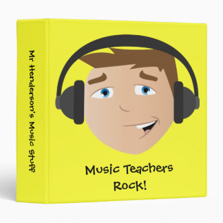 Music Teachers Rock! Binder
