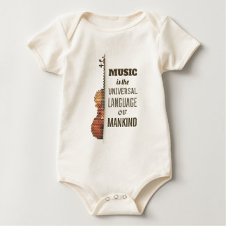 Music The Universal Language | Bodysuit