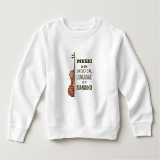 Music The Universal Language | Sweatshirt