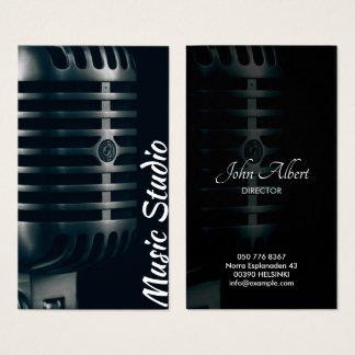 Music Theme Business Card