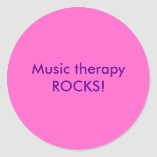 Music therapy stickers