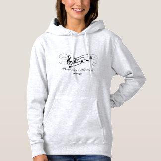 music therepy hoodie