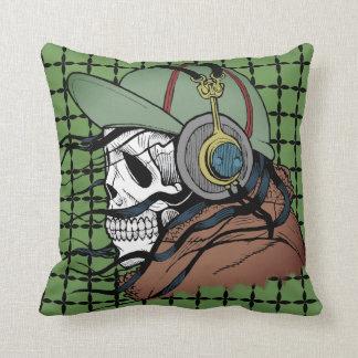 Music Till I Die Throw Pillow