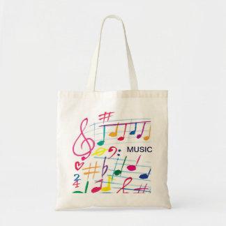 Music Tote Budget Tote Bag