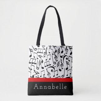 Music Tre Chique Rouge Tote Bag