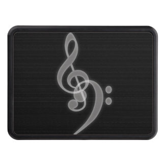 Music - Treble and Bass Clef - Hitch Cover