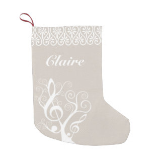 Music Tree Christmas Stocking