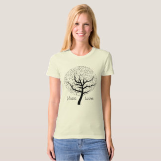 Music Tree - Music Lover -- Love on a T-shirt