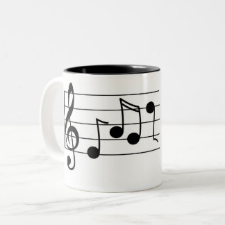 Music Two-Tone Coffee Mug