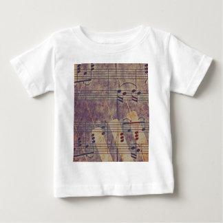 Music, vintage look B Baby T-Shirt