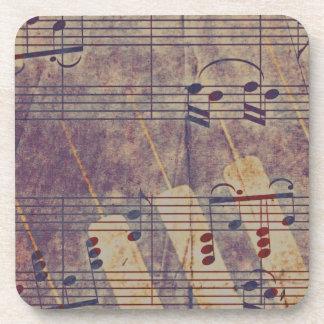 Music, vintage look B Coaster