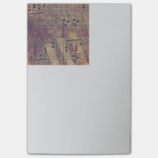 Music, vintage look B Post-it Notes