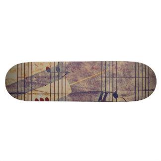 Music, vintage look B Skate Boards