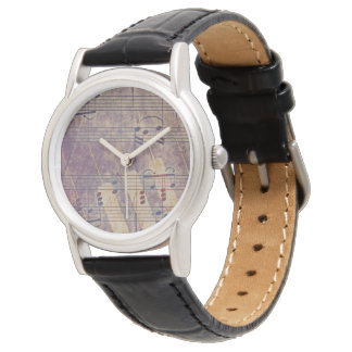 Music, vintage look B Wristwatches