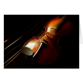 Music - Violin - The classics Card