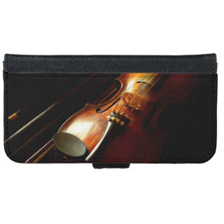 Music - Violin - The classics iPhone 6 Wallet Case